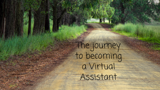 journey to become a VA blog post title